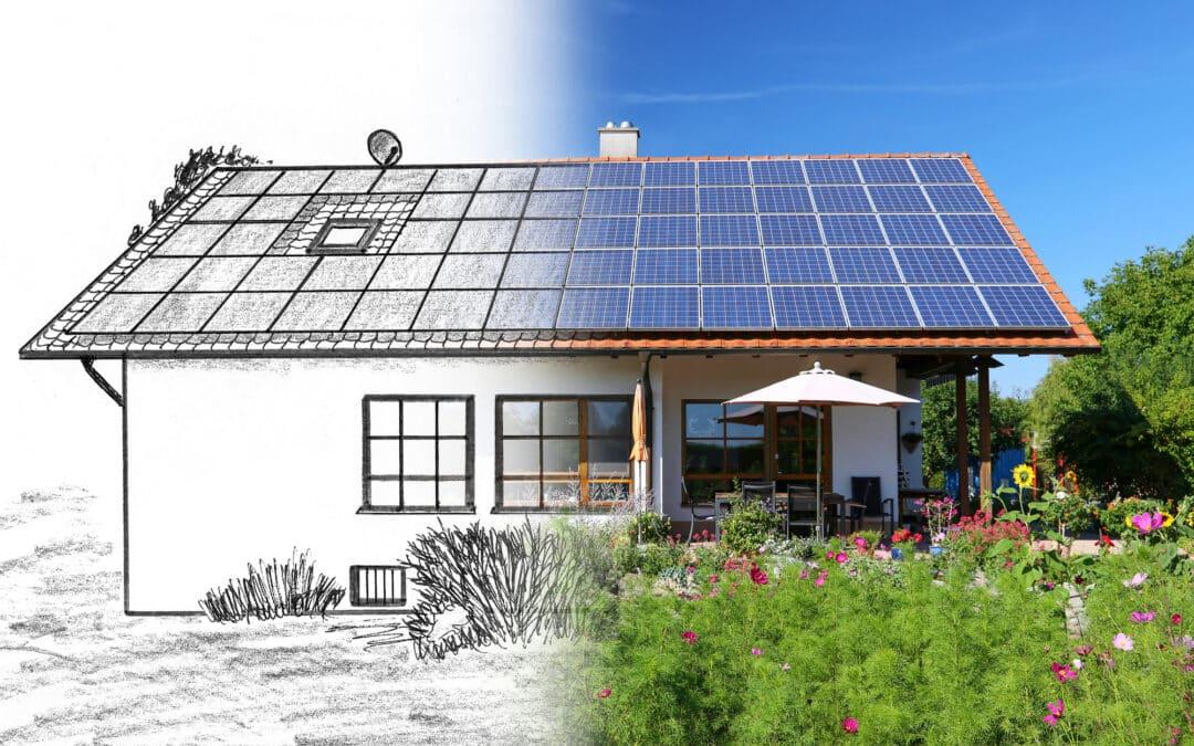 Fotowoltaika z magazynem energii i inwerterem jednofazowym – sposób na energię elektryczną w domku na działce